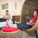 Phanomrung Puri Boutique Hotels and resorts : ห้องซูพีเรียร์เตียงเดี่ยว มีระเบียง